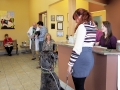The waiting room of The Bradford Animal Clinic