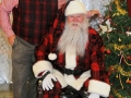 Santa poses with Dr. Corradini